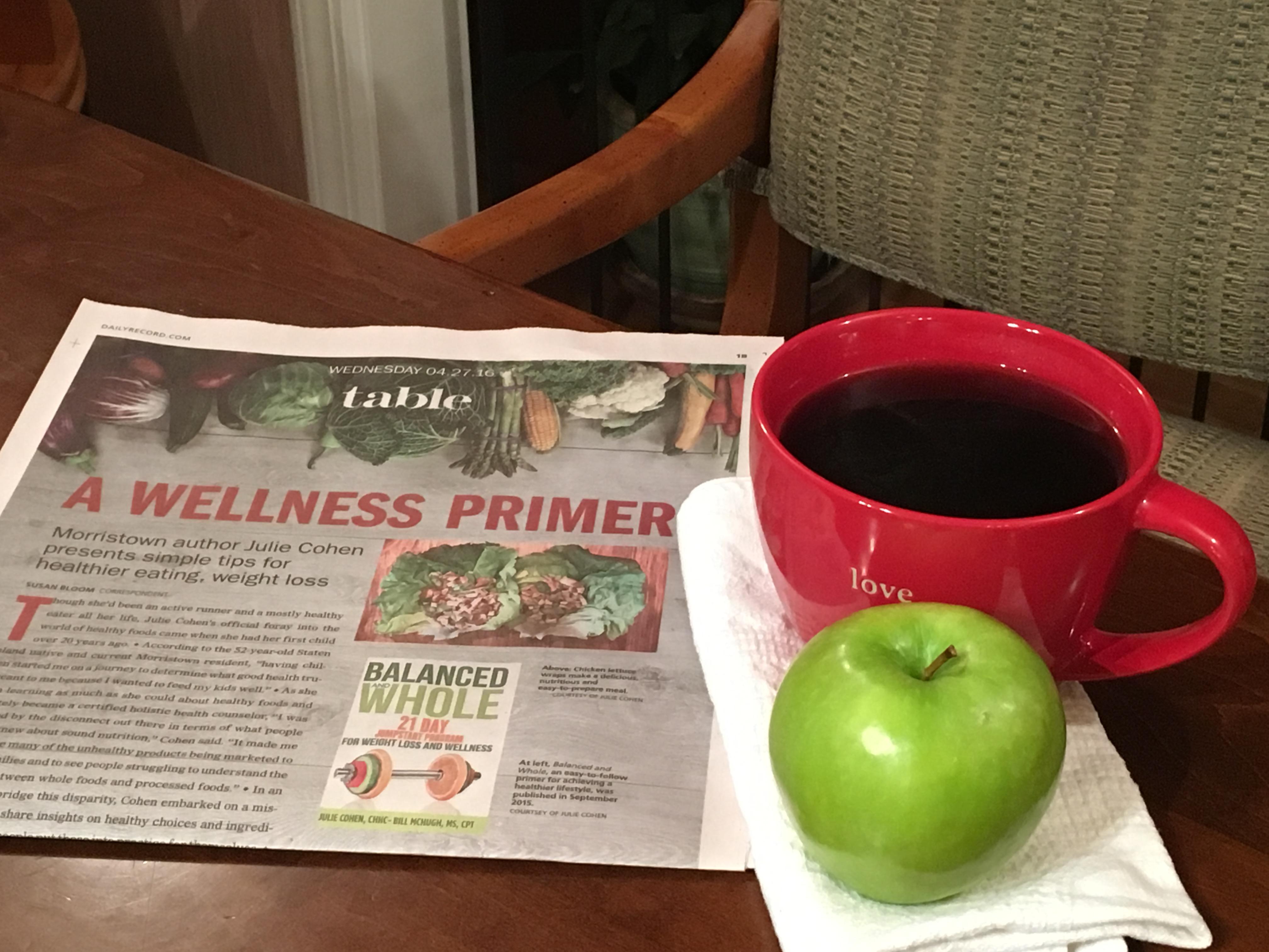 wellness primer newspaper