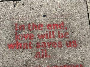 love will always save us