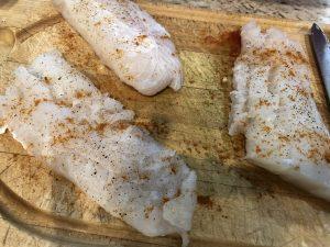 Cod Shakshuka smoked paprika